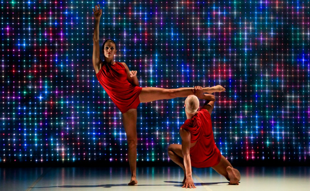 Juliette Barton and Andrew Crawford. Photo by Wendell Teodoro